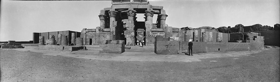 Kom Obmo Temple, Egypt | Old Photos | ZolotarevArchives.com
