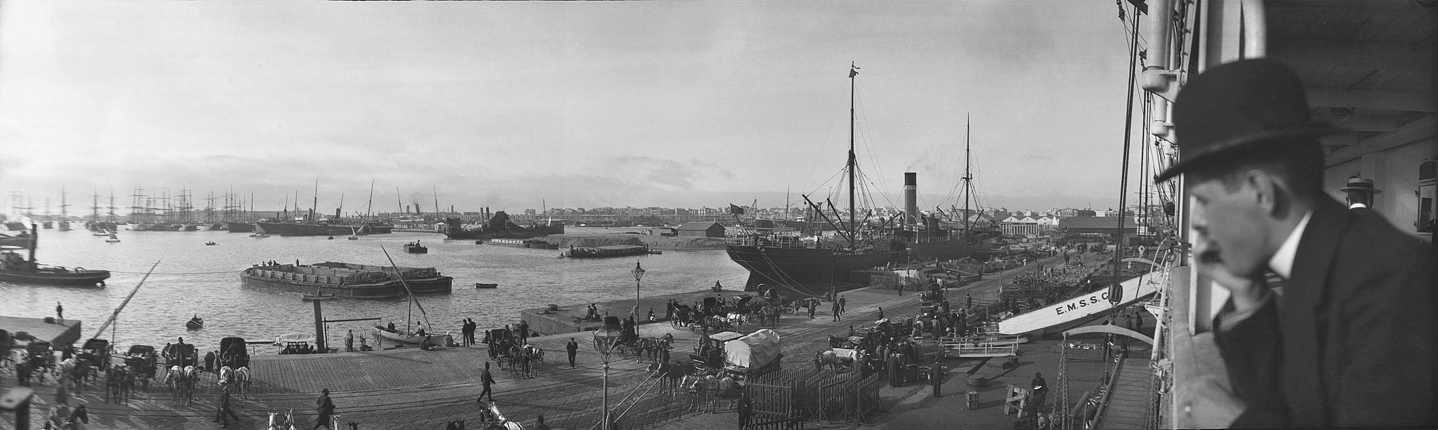 Port of Alexandria, Egypt, 1900s