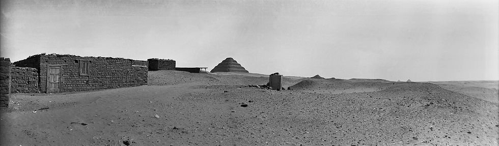 Pyramids, Egypt | Old Photos | ZolotarevArchives.com