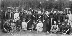 Monks, Russia, 1900s