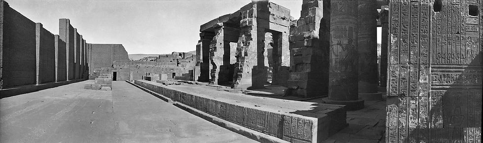Kom Ombo Temple, Egypt | Old Photos | ZolotarevArchives.com