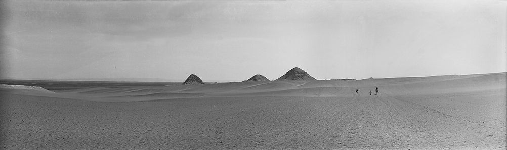 Abusir Pyramids, Egypt , 1900s | ZolotarevArchives.com