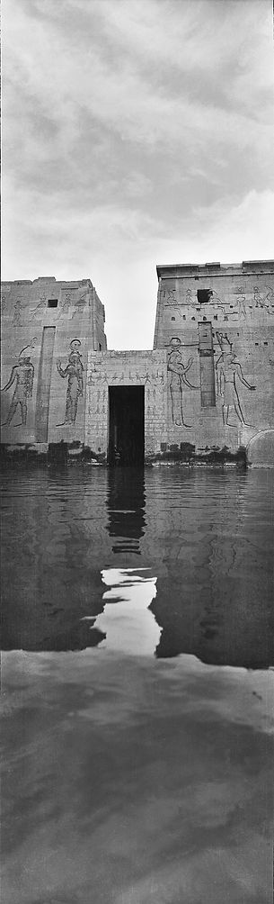 Temple of Isis, Egypt | Old Photos | ZolotarevArchives.com