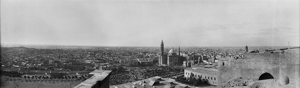 Sultan Hassan Mosque. Cairo, Egypt, 1900s | ZolotarevArchives.com
