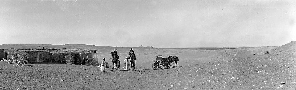 Pyramids, Egypt | Old Photos | ZolotarevArchives.comEurope