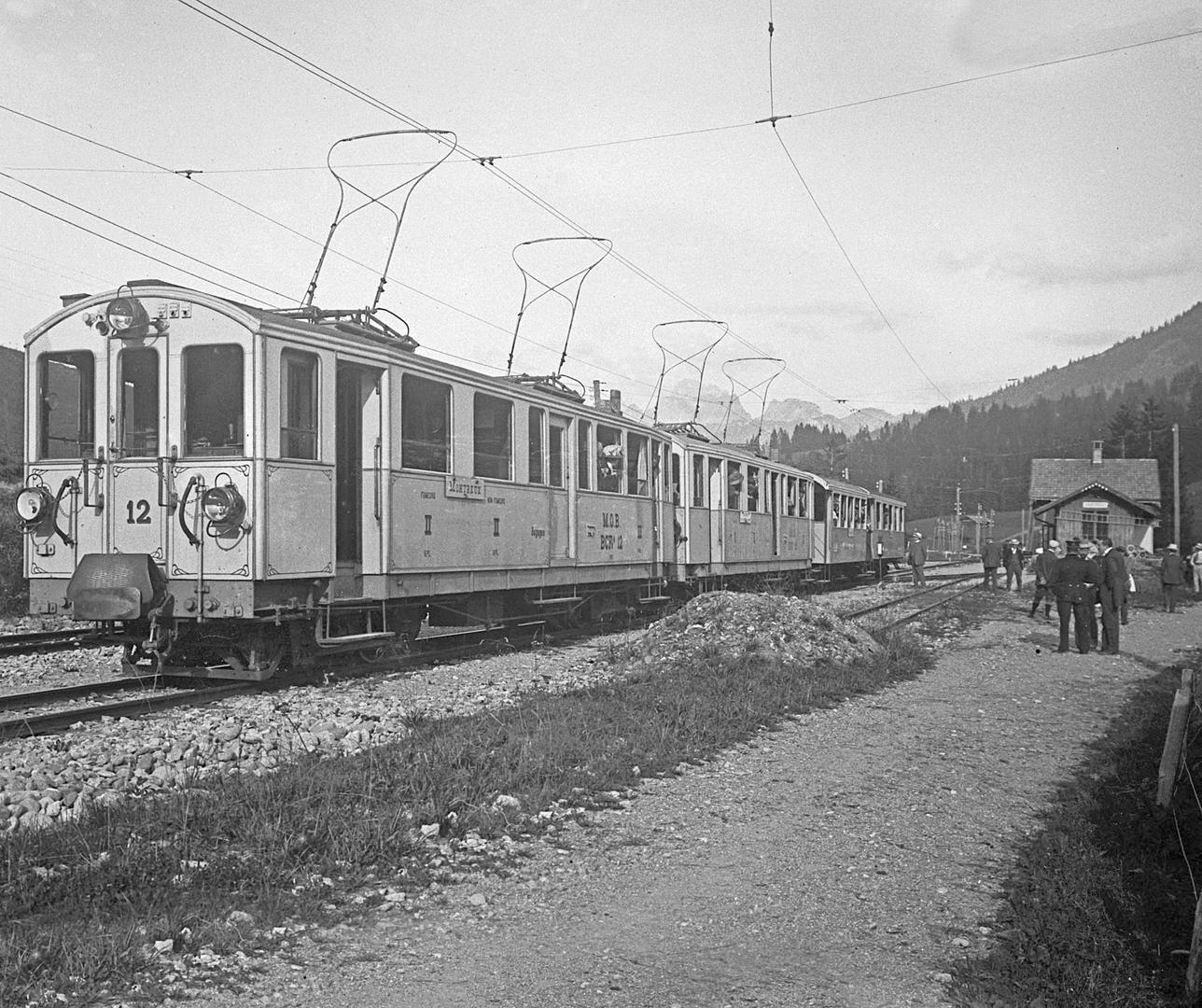 Saanenmöser Train Station (A1335)