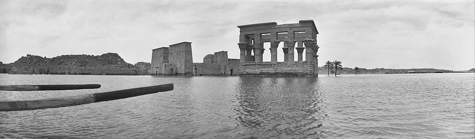 Temple of Philae,Egypt | Old Photos | ZolotarevArchives.com