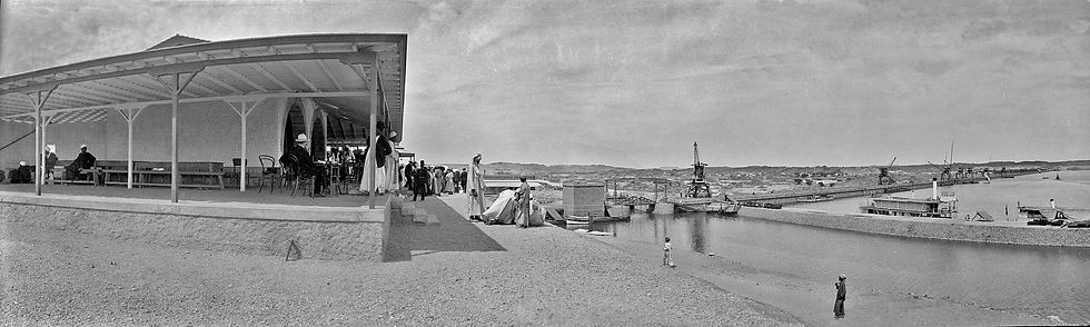 Aswan Dam, Egypt | Old Photos | ZolotarevArchives.com