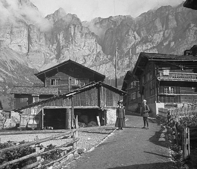 Zur Gasse Street, Leukerbad (А1309)