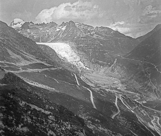 Rhone Glacier from Grimsel Pass (A1323)