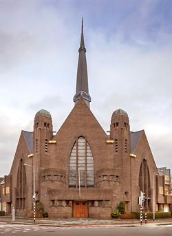 Ger. Oosterkerk, Groningen. Architecten J.Kuiler en L.Drewes.