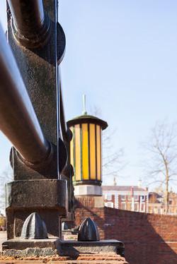 Boteringebrug, Groningen. Architect S.J. Bouma.