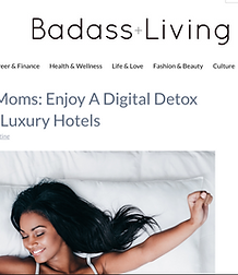 detox luxury moms
