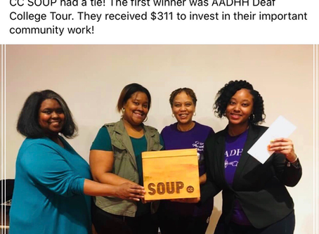 Detroit Soup Winner!