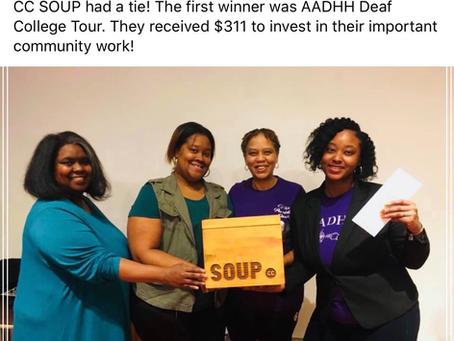 Detroit Soup Winner!