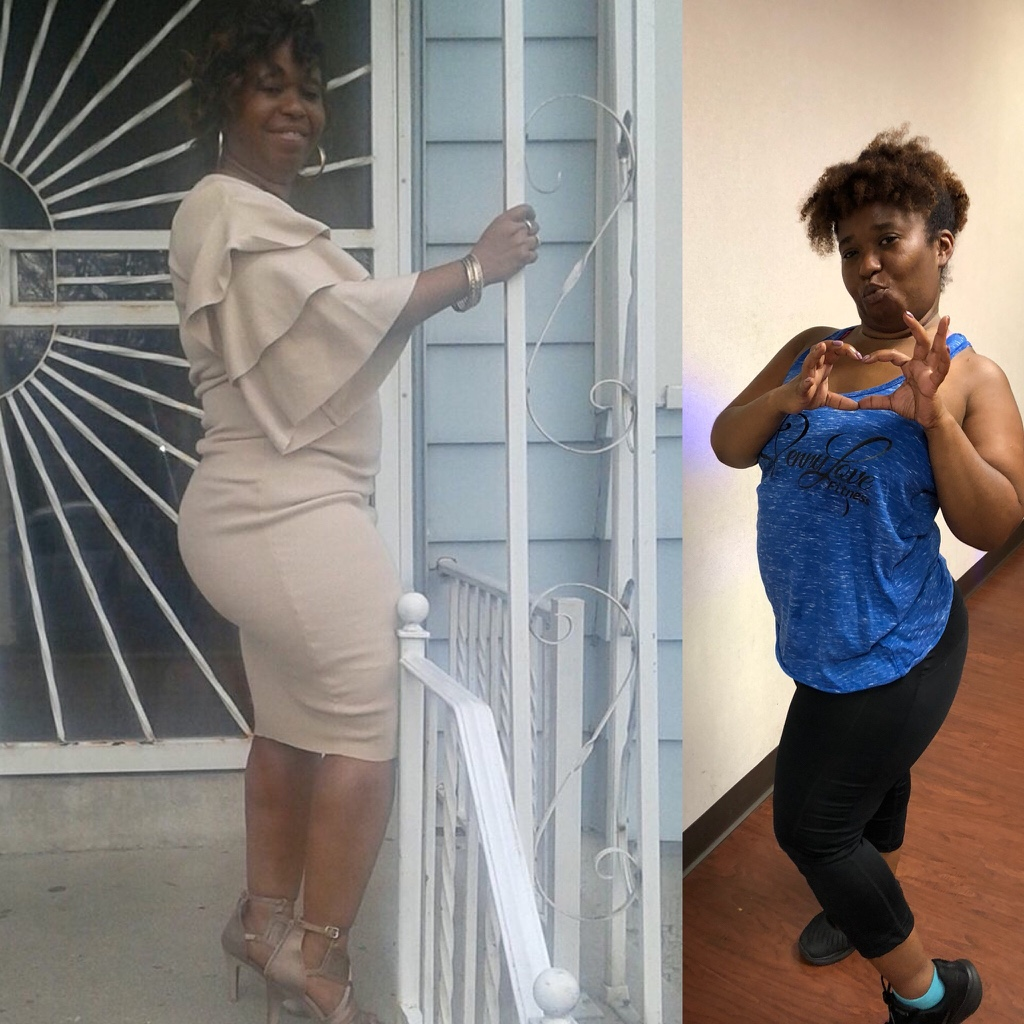 Penny Love Fitness April Before and After