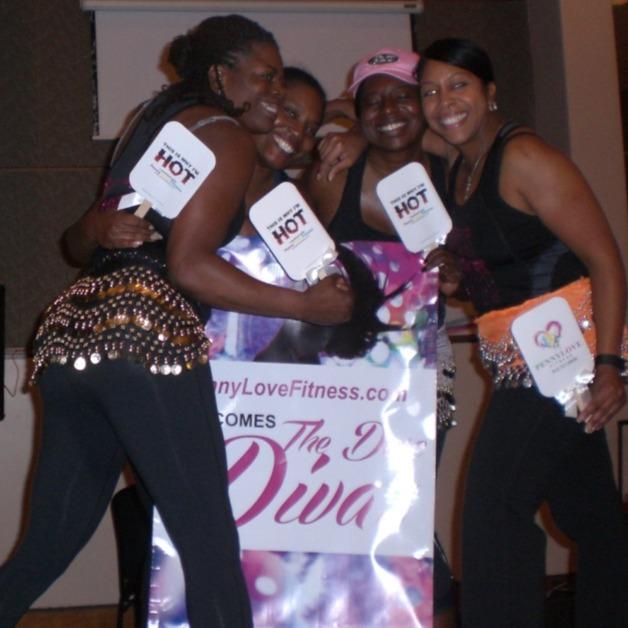 Dare Divas Hug Penny Love Fitness