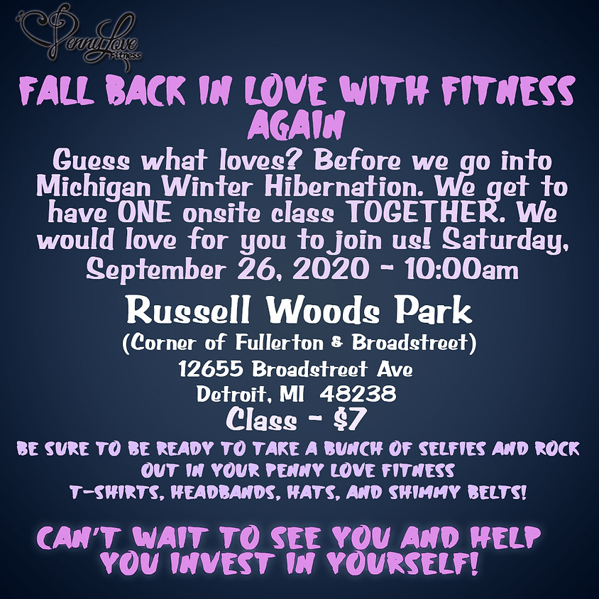 Fall Back in Love with Fitness