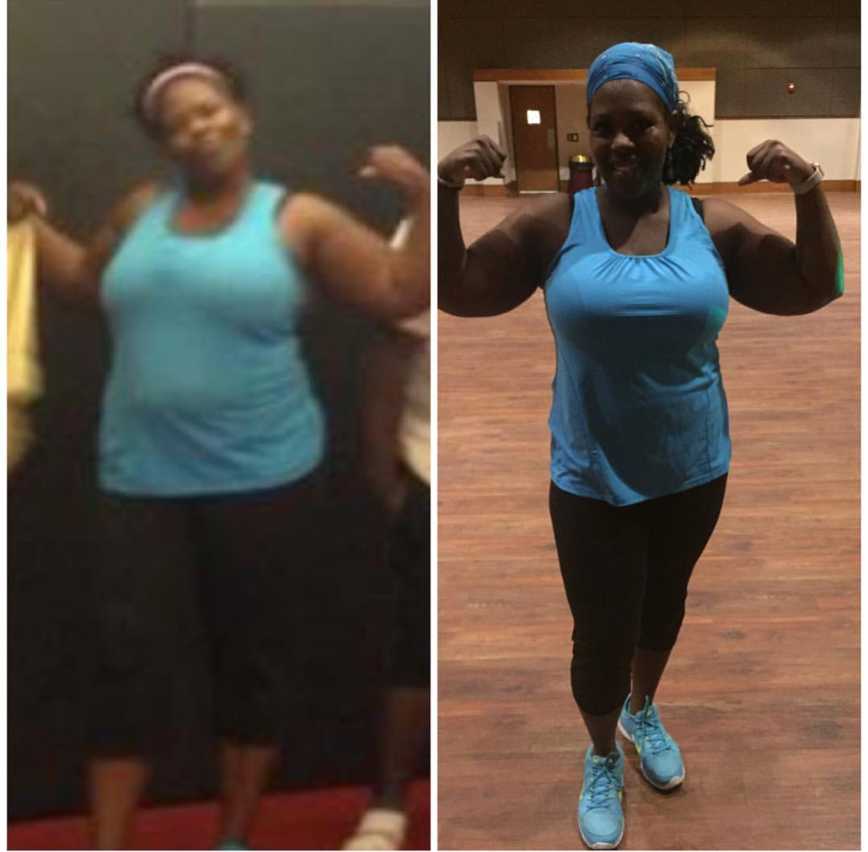 Penny Love Fitness Keysha Before and After
