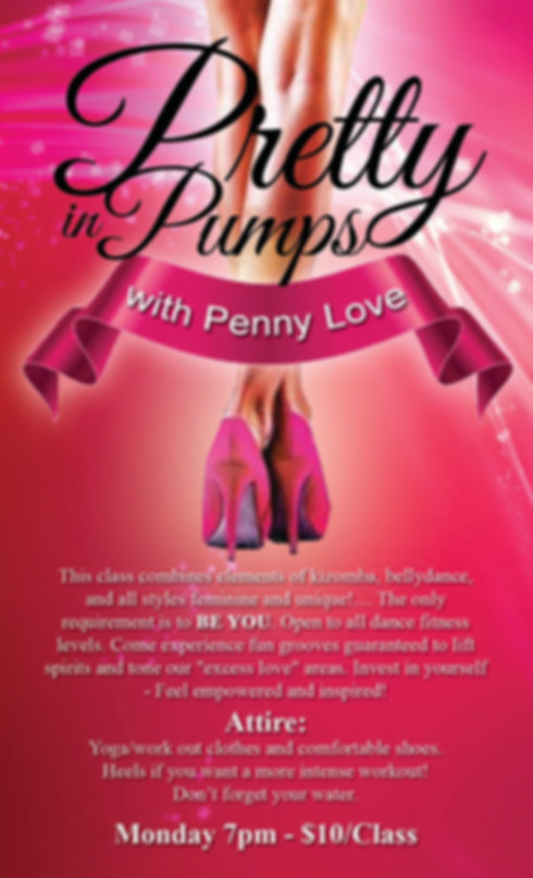 Penny Love Fitness Pretty in Pumps Heels Class