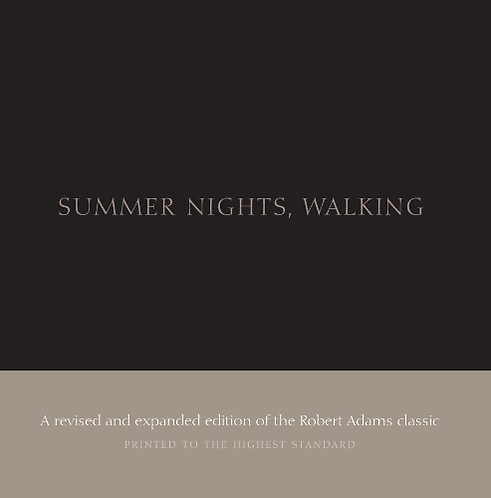 Summer Nights, Walking - Robert Adams