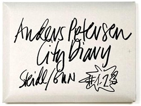 Anders Petersen city diary - Anders Petersen