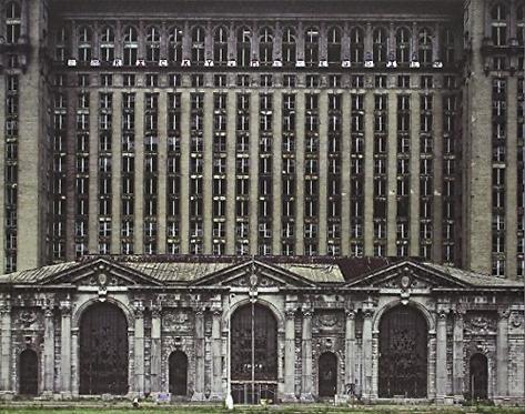 Détroit, vestiges du rêve américain (1st Edition) - Yves Marchand, Romain Meffre