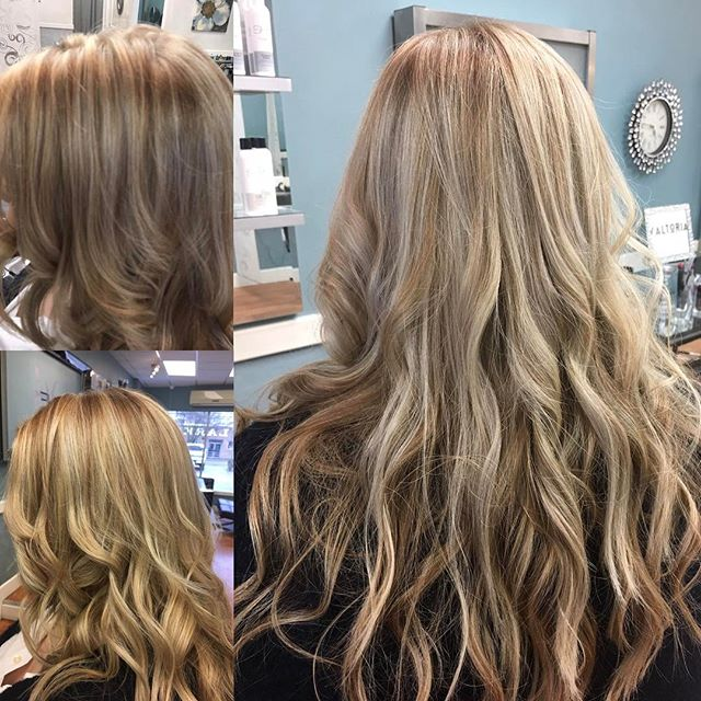 SHE does it again⭐️⭐️another blonde beauty _theshesalon 🙍🏼💞#behindthechair #lovemyjob #shony #mod
