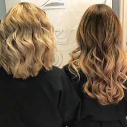 Double trouble❤️ beautiful blonde and om