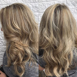 SHE does another cool blonde 😎😍#she #c