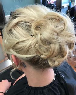 Wedding hair #wedding #updo #modernsalon #party #scruplehaircare #alfaparf #lovemyjob
