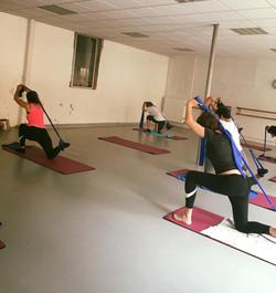 elastique pilates stretch yoga lyon