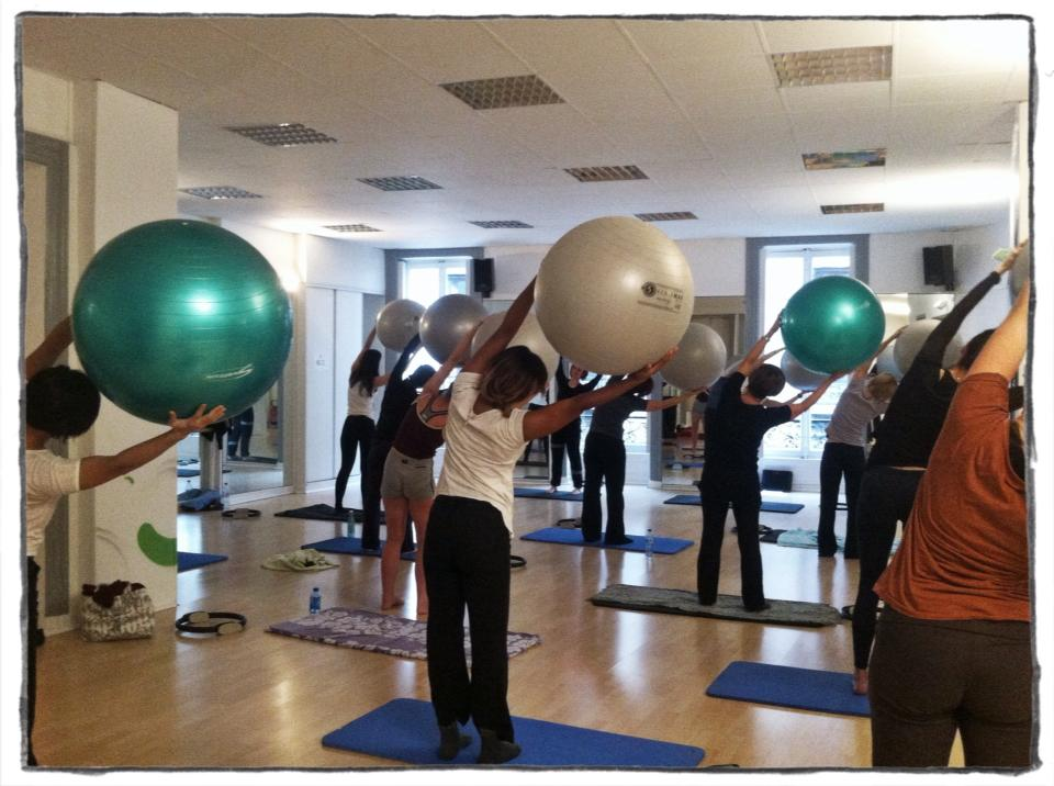 Gros ballon pilates