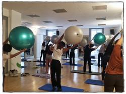 Gros ballon pilates