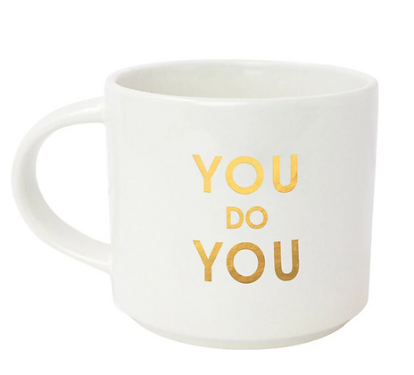 YOU DO YOU GOLD METALLIC MUG