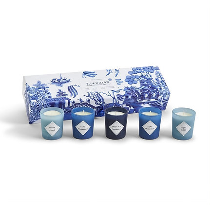 Blue Themed Candle Set