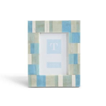 Pearled Blue Frame