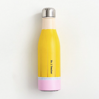 Teacher Pencil Water Bottle
