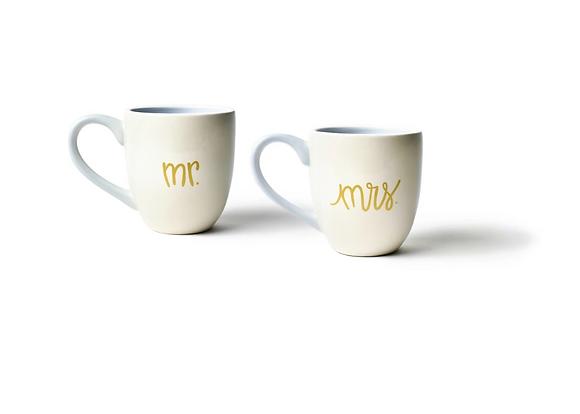 Mr. & Mrs. Mug Set
