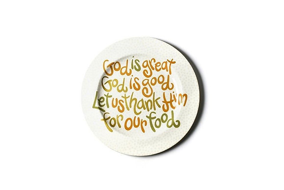God is Great 14 Platter