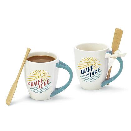 Wake Mug With Oar