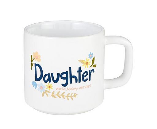 Floral Daughter Mug