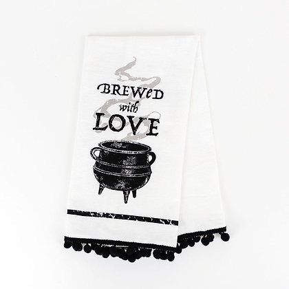 Brewed With Love Tea-towel