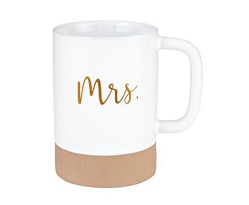 Mrs. Gold Mug