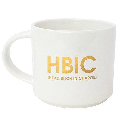 HBIC METALLIC GOLD MUG