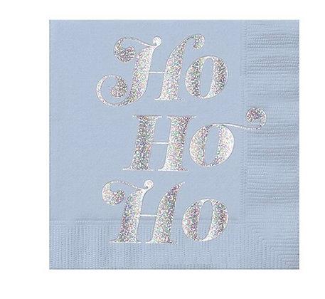 Ho Ho Ho Holiday Napkin