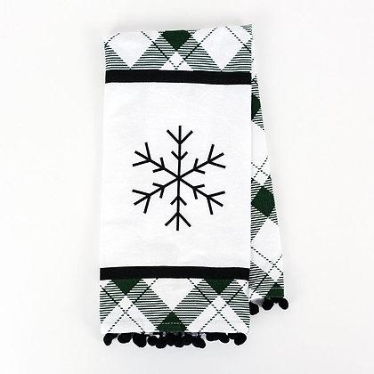 Snowflake Teatowel