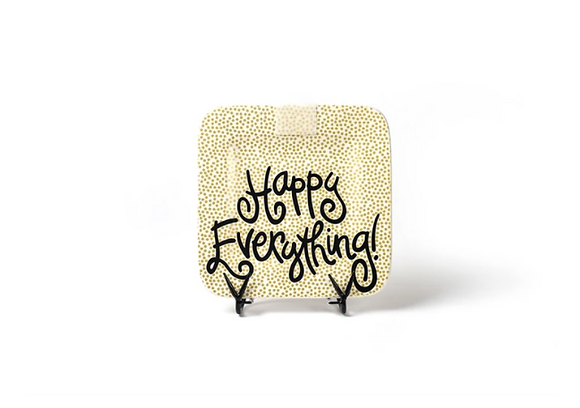 Gold Small Dot Mini Happy Everything Platter