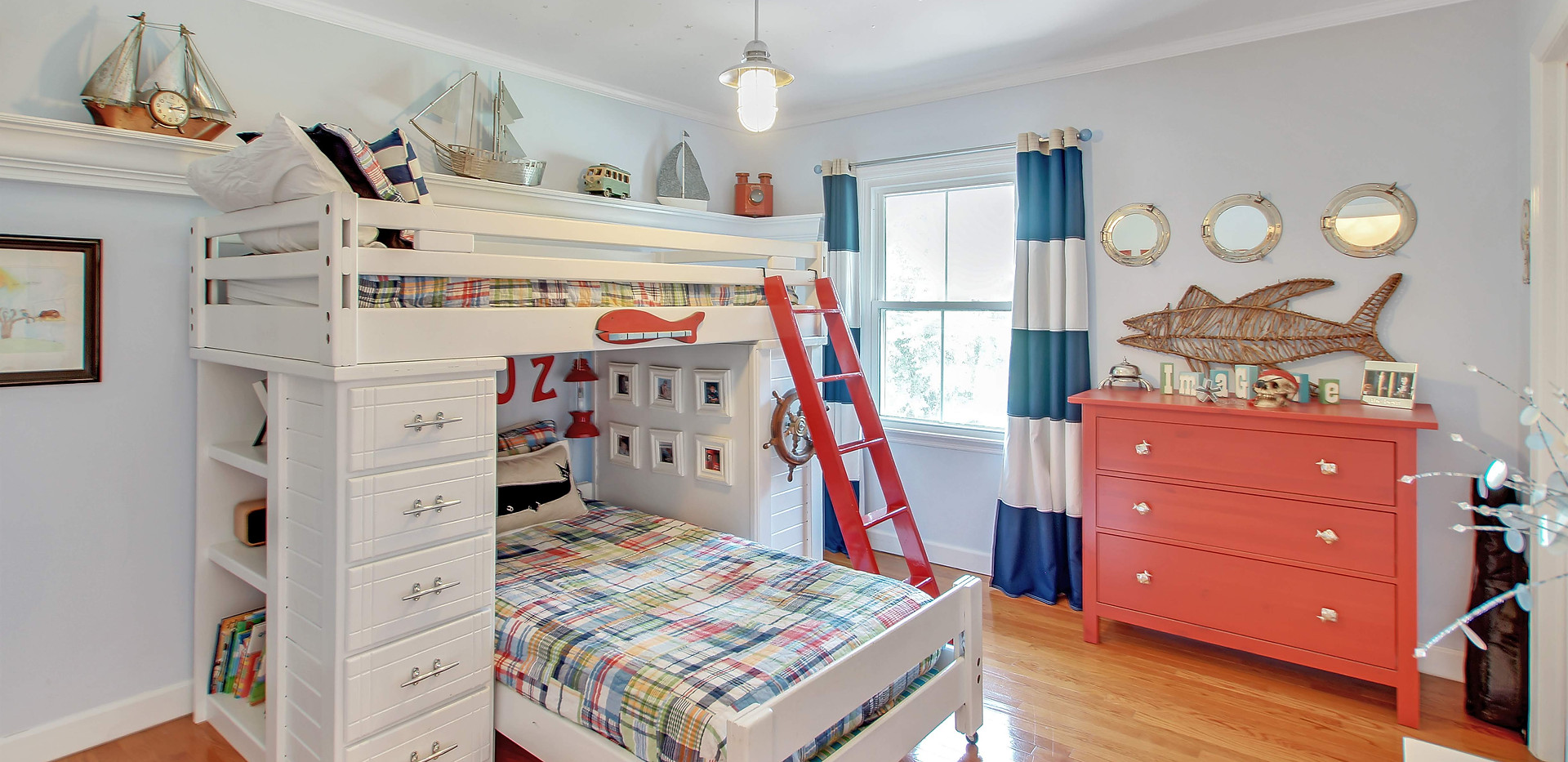 Children's Coastal Bedroom