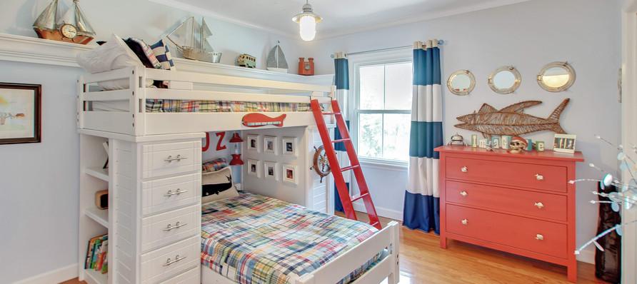 Children's Coastal Bedroom
